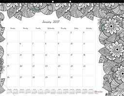 desk pad calendar 2017 the best coloring calendars for 2017 cleverpedia