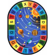 Kids Carpets Rugs Space Alphabet Joy Carpets