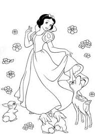 snow white costume coloring pages toys pictures