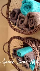Bathroom Towel Storage Baskets by Best 20 Brown Bath Towels Ideas On Pinterest Towel Basket Diy
