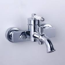 single handle wall mout old bathroom sink faucet