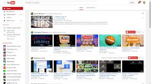 youtube channel layout 2015 image youtube layout logged in png logopedia fandom powered by