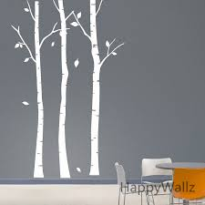 aliexpress com buy birch tree wall sticker family tree wall