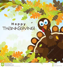 Thanksgiving Leaf Template Template Greeting Card With A Happy Thanksgiving Turkey Vector