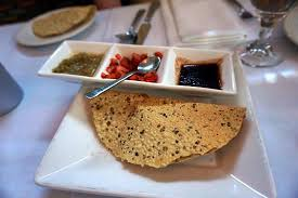 milan cuisine papadum with dips picture of milan indian cuisine charlottesville