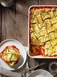 cuisine lasagne facile lasagne crémeuse aux légumes rôtis ricardo