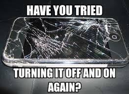 Broken Phone Meme - cracked broken phone meme funny 02 my favorite daily things