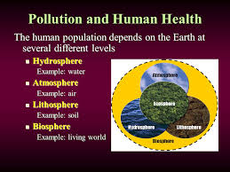 environmental health chapter 3 lesson 3 1 pollution and human