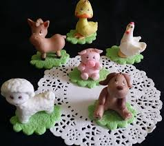 farm cake topper farm birthday zoo birthday farm baby shower
