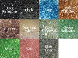 Firepit Glass Fireglass Colored Glass For Pit California Outdoor Concepts