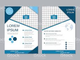 zoo brochure template modern twosided professional flyer template stock vector