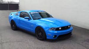 2011 Black Mustang 2011 Mustang Gt Idle Lope Cam Lope Tune Youtube