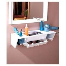 Makeup Vanity Ideas For Small Spaces Diy Makeup Vanity Out Of Wall Mounted Shelves Ideas For My