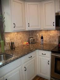 backsplashes for white kitchen cabinets kitchen kitchen backsplash white cabinets brown countertop