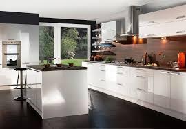 white gloss kitchen cabinets home decoration ideas