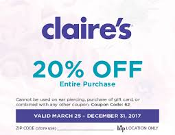 claires gift card claires accessories coupons idsole coupon code