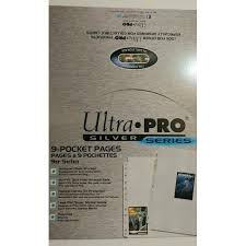 9 pocket pages pro 100 pages of 9 pockets binder sheets