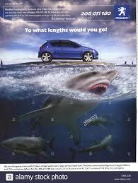 peugeot co 2000s uk peugeot magazine advert stock photo royalty free image