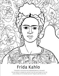 mexico coloring page diego rivera coloring pages u0026 frida kahlo coloring pages google