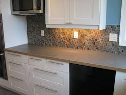 tin backsplash tile restaining cabinets before and after what