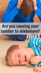 are you causing your toddler to misbehave pick any two