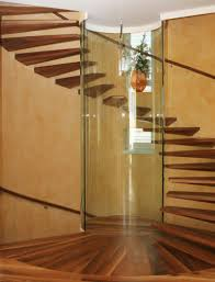interior designs impressive spiral stairs ideas with glass