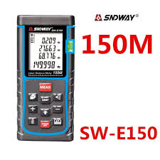 150 m to ft sndway 150m 120m digital laser distance meter rangefinder tape