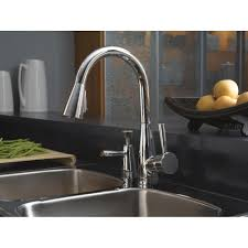 brizo kitchen faucets brizo faucet 63070lf pc venuto polished chrome pullout spray