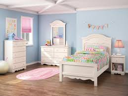 exciting themed teenage bedrooms with blue paint walls and small
