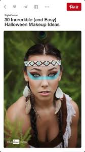 halloween makeup for black skin best 25 pocahontas makeup ideas on pinterest good eyeshadow