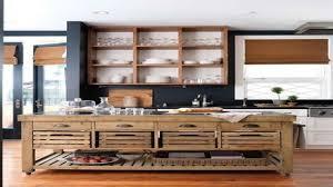 wood kitchen islands birch wood ginger shaker door rustic kitchen island backsplash
