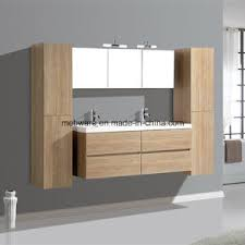 Bathroom Vanity With Side Cabinet China Melamine Mdf Bathroom Vanities With Side Cabinet Resin Sink