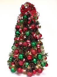 Pre Decorated Tabletop Christmas Trees by 50 Best Christmas Trees Sandy Newhart Designs Images On Pinterest