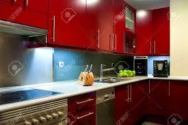 modern kitchen red accessories ravishing stylish red and white kitchen cabinets