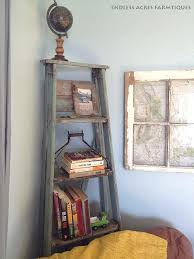 Corner Ladder Bookcase Corner Ladder Display Bookcase Sohoshorts Me