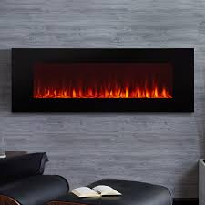real flame dinatale 50 inch wall mounted electric fireplace