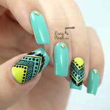 32 beautiful aztec tribal nails art that have the essence of