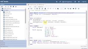 Sas 70 Report Exle by Sas Programming On Data Manipulation And Preparation Part 1 How