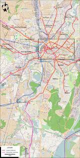 Strasbourg France Map by Strasbourg 1930
