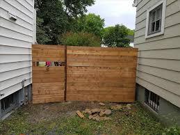 vertical wood slat fence home u0026 gardens geek