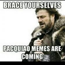 Pacquiao Meme - the 8 funniest manny pacquiao memes from the marquez fight sbm