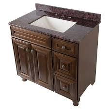 home decorators collection templin 37 in vanity in coffee with