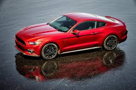 Black And Red Mustang Rims 2016 Ford Mustang Adds California Special Package Hood Turn Signals