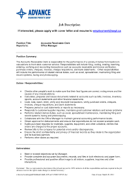 Best Font Resume Cover Letter by Fascinating Accounts Receivable Resume Best Business Template