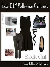 Halloween Costumes Black Cat Easy Diy Halloween Costumes Black Cat Bitter U0027clock