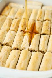 pistachio rolled baklava recipe use real butter cookies