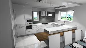 cuisine fenetre beautiful cuisine en u avec fenetre et bar photos design trends avec