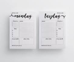 homemade planner templates daily planner 2017 printable free imvcorp blank daily calendar template 2017 2017 calendar printable