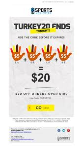 email marketing for thanksgiving newsletter monitor