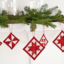 Quilted Christmas Ornaments To Make - 88 best quilts christmas ornaments images on pinterest quilted